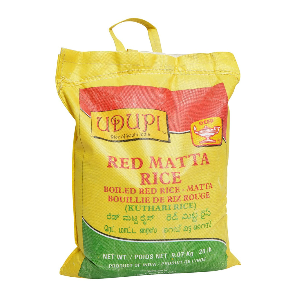 Deep Red Matta Rice (20lb)