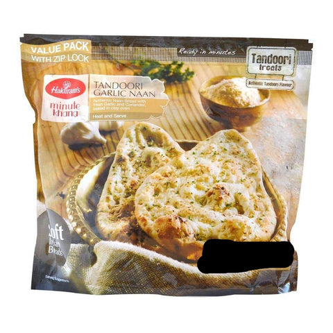 Haldiram's Tandoori Garlic Naan 16 pieces
