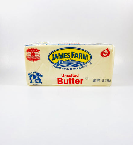 Unsalted Butter (JamesFarms) 1lb
