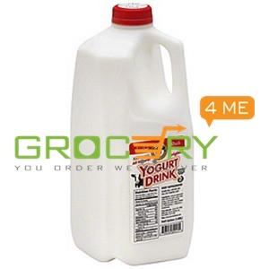 All Natural Yogurt Drink Origional Flavor (Karouns) 1/2 Gallon 19 Dairy