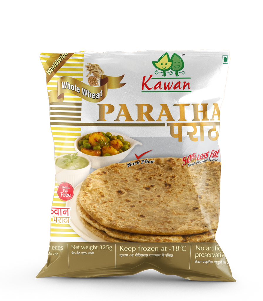 Kawan Whole Wheat Paratha (5 Pieces)