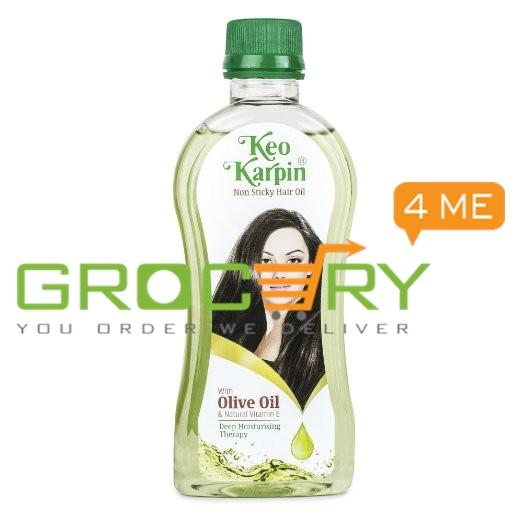 Keo Karpin Non Sticky Hair Oil With olive oil & natural vitamin E (Keo Karpin) 300g