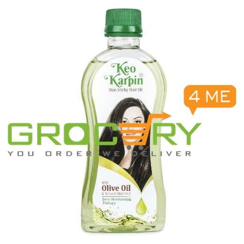 Keo Karpin Non Sticky Hair Oil With olive oil & natural vitamin E (Keo Karpin) 100g