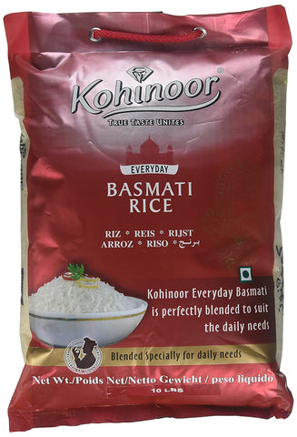 Kohinoor Basmati Rice Every Day (10Lb) 12