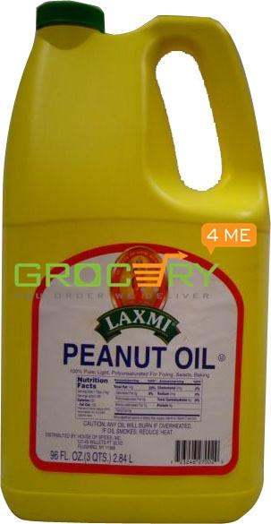 Peanut Oil (Laxmi) 96oz