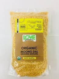 Love Organics Moong Dal 4lb