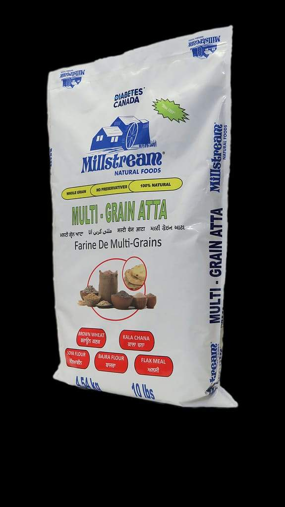 Atta Multigrains Flour (Millstream) 10Lb - Diabetic Friendly Zero Sugar 13