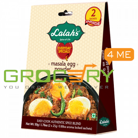 Masala Egg Powder (Lalah's) 50g