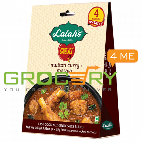 Mutton Curry Masala (Lalah's) 50g
