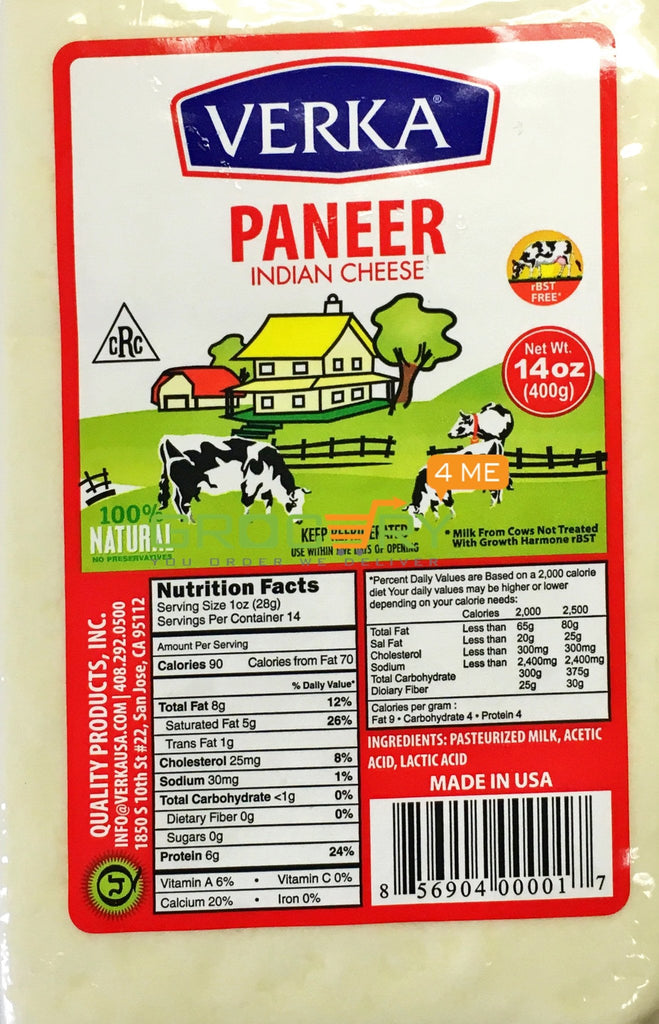 Dairy Indian Cheese (Verka) 400G 19
