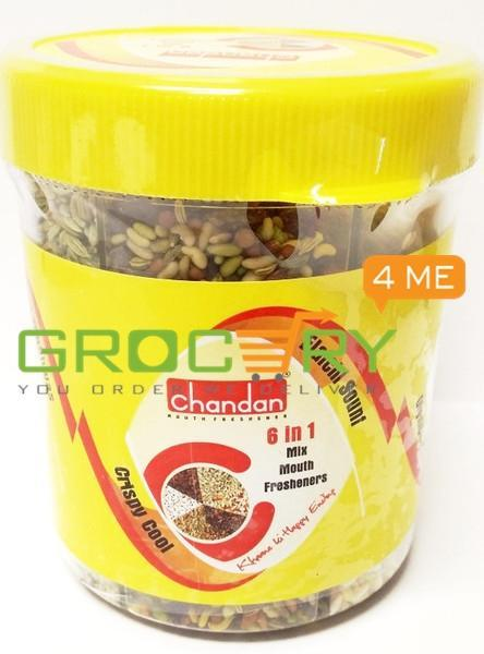 6 In 1 Mix Mukhwas(Chandan) 230G Ready To Eat
