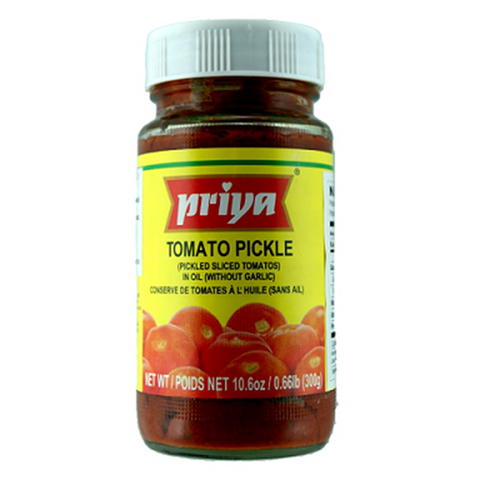 Priya Tomato Pickle w/ Garlic (300g)