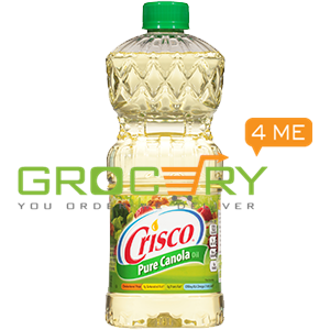Pure All Natural Canola Oil (Crisco) 48oz