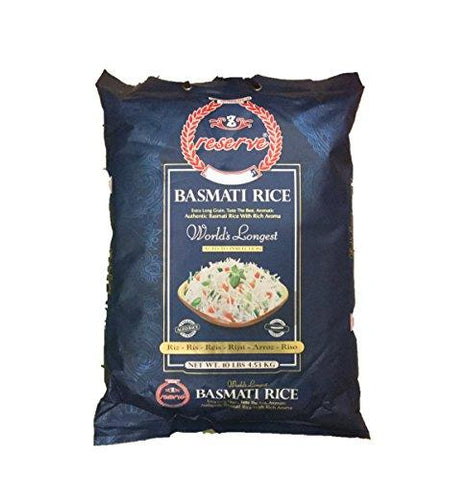 Reserve Long Grain Basmati Rice (10Lb) 12
