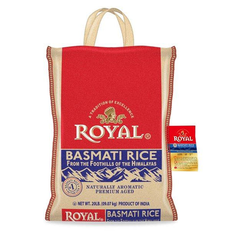 Basmati Rice (Royal) 20Lb 12