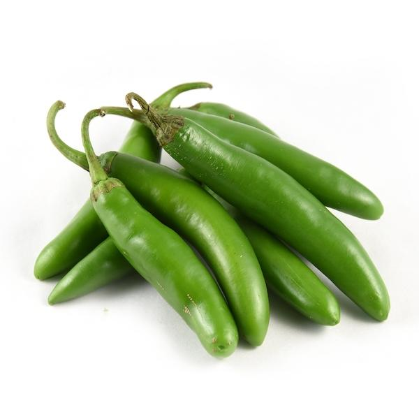Serrano Chilli 100G 18 Vegetables