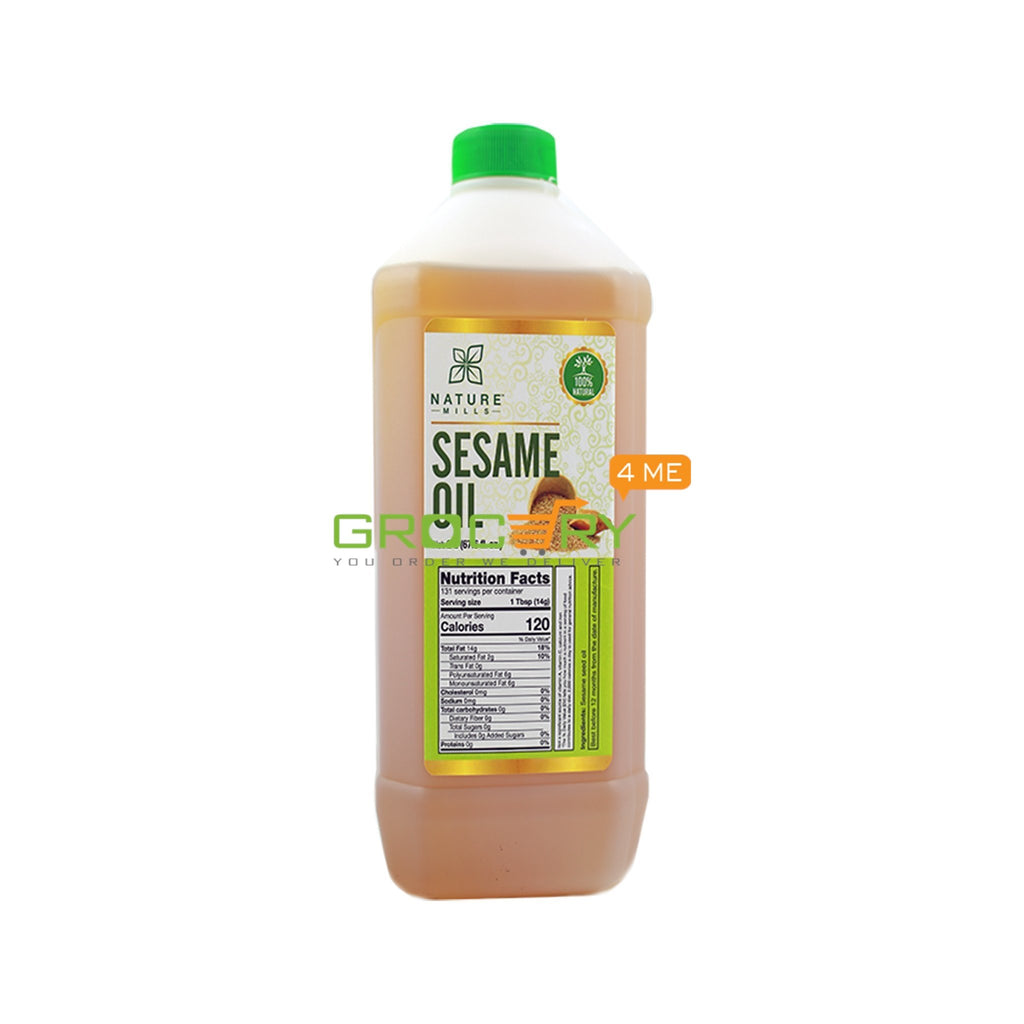 NATURE MILLS NATURAL SESAME OIL 2 LITER
