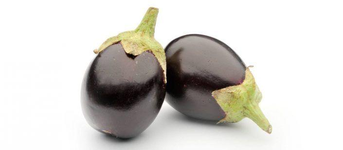 Eggplant Round (Small) 1Lb ~ 7 - 8 Pieces 18 Vegetables