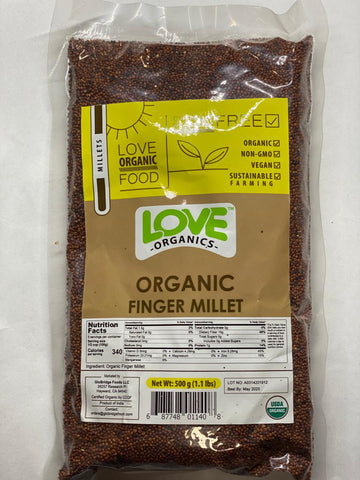 Love Organic Finger Millet 1.1Lb 3 Health Foods