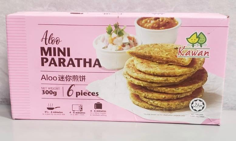 Kawan Aloo Mini Paratha 300g (6 pieces)