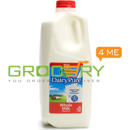 DairyPure Whole Milk Vitamin D (Berkley Farms) 1/2 gallon