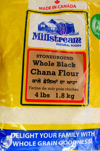 Millstream Whole black chana flour 4lb