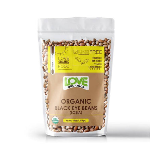 Love Organic Black Eye Bean (2Lb) 14 Dals