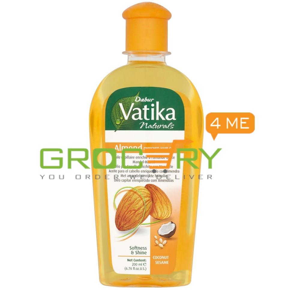 Vatika Naturals Almond Enriched Hair Oil Big (Vatika)