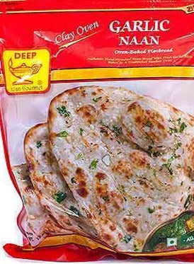 deep garlic naan (12 naan)