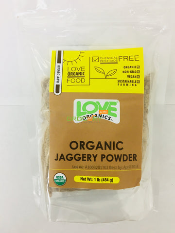 Love Organics jaggery powder 1lb