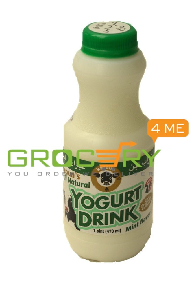All Natural Yogurt Drink Mint Flavor  (Karoun's) 473ml