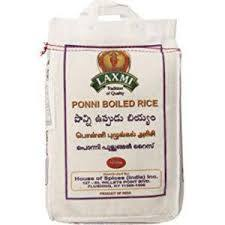 Ponni Boiled Rice(Laxmi) 10lb
