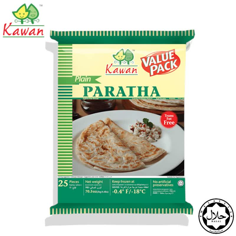 Plain Paratha Value Pack (25 pcs - 2kg)
