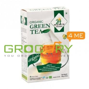 Organic Green Tea (24 Mantra) 100g