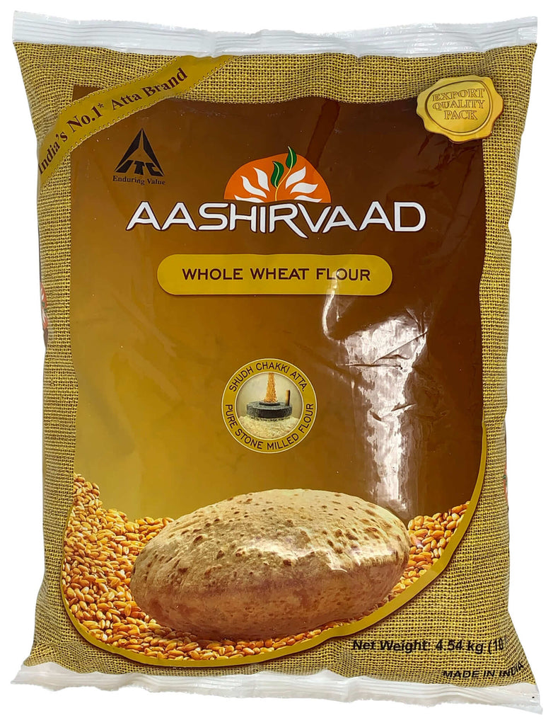 Whole Wheat Atta (Aashirvaad) 10lb