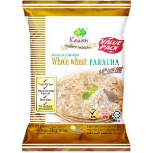 Kawan Whole Wheat Paratha (25 Pieces)
