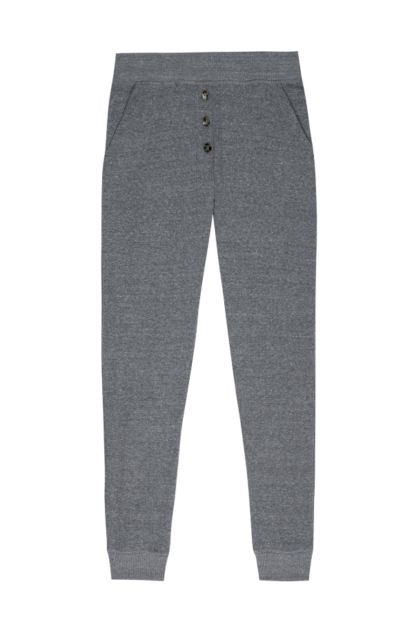 Thermal Sweatpants- Charcoal
