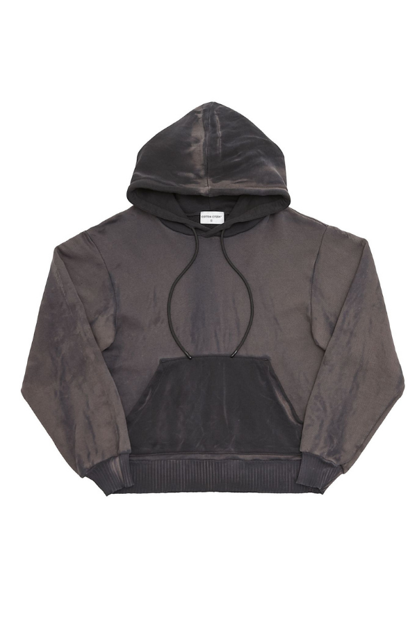 Brooklyn Oversized Hoodie - Graphite Mix