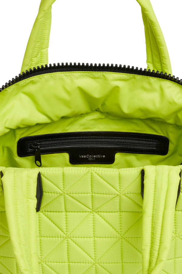 Small Tote - Neon Lime
