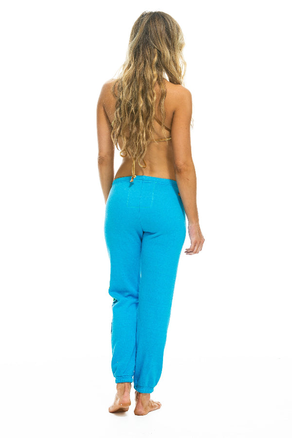 Women's Sweatpants - Neon Blue