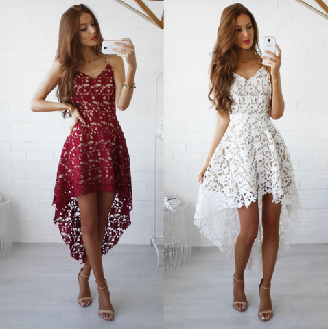 Fashion Lace Sleeveless Dress