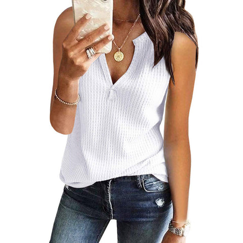 Women Sling Vest Sleeveless Top