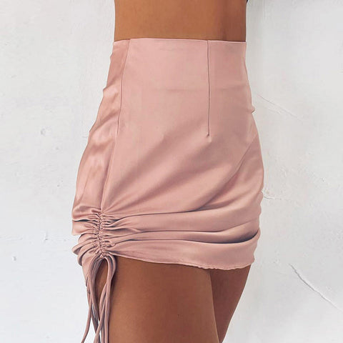 Fashion High Waist Bag Hip Slim Skirt
