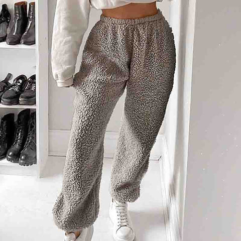 Loose Solid Color Sweatpants