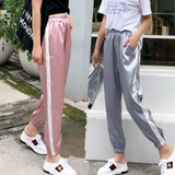 Design High Waist Sports Slacks