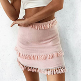 Women'S Solid Color Sexy Slim Skirt