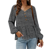 Design Long-Sleeved Shirt Top