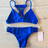 Fashion sexy blue bikini Swimwear