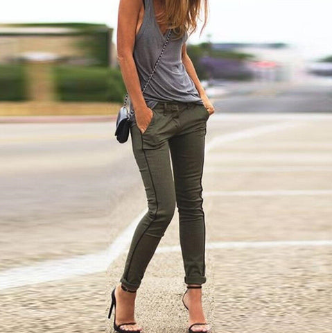 Casual Slim long pants