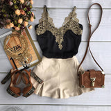 Design sling lace dress